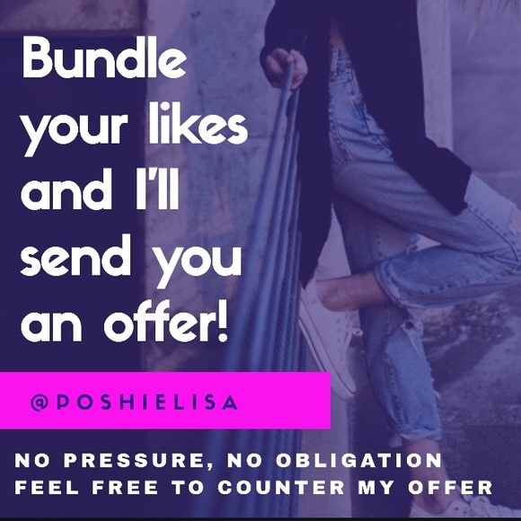 💜💜💜 Other - Bundle & save
